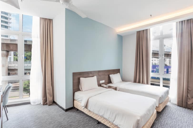 Prescott_Hotel_KL Sentral_Room_executive twin